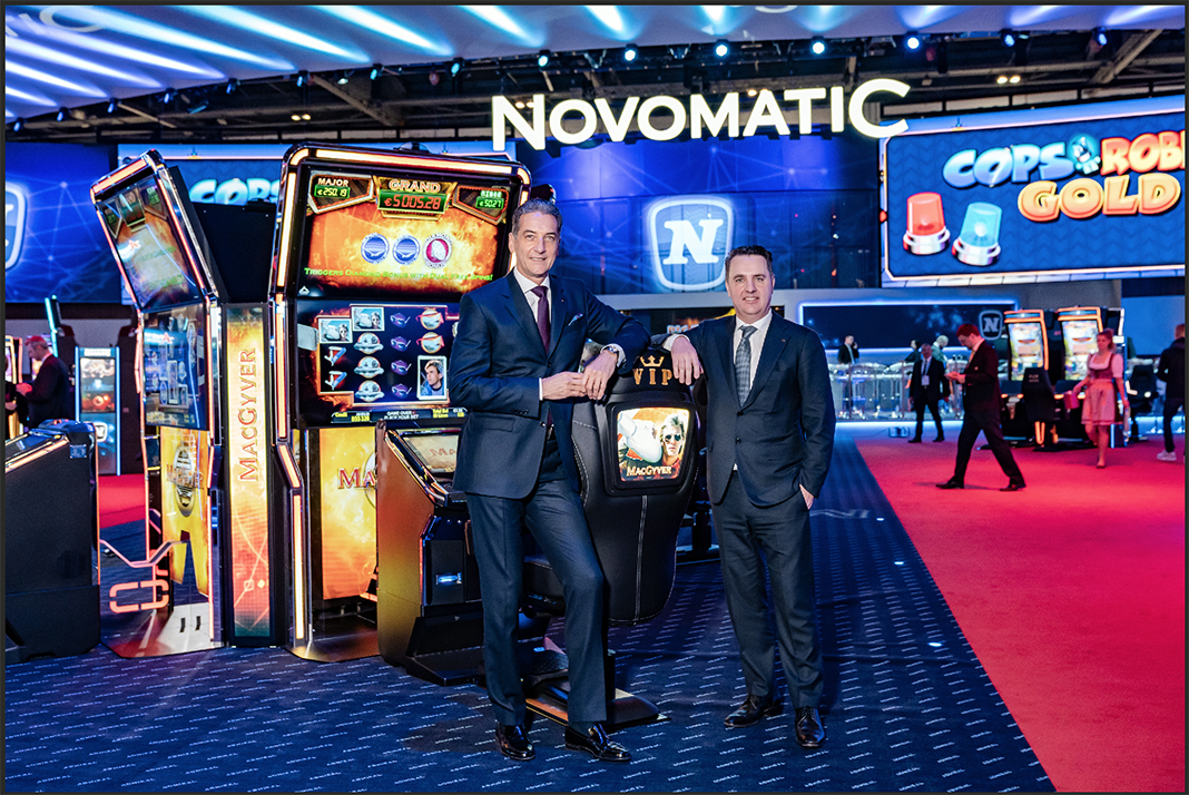 NOVOMATIC presented latest gaming technology in London | NOVOMATIC