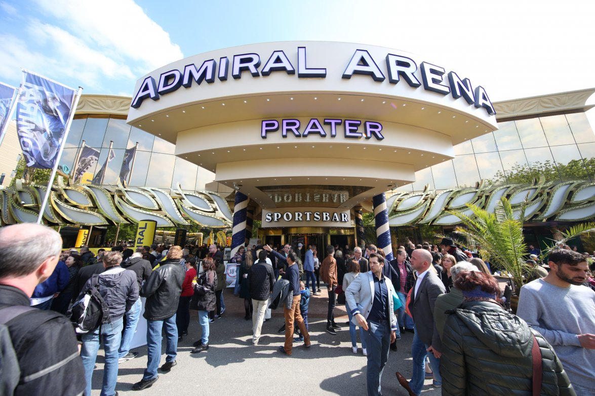 Admiral Arena Prater, Fotocredit Ludwig Schedl