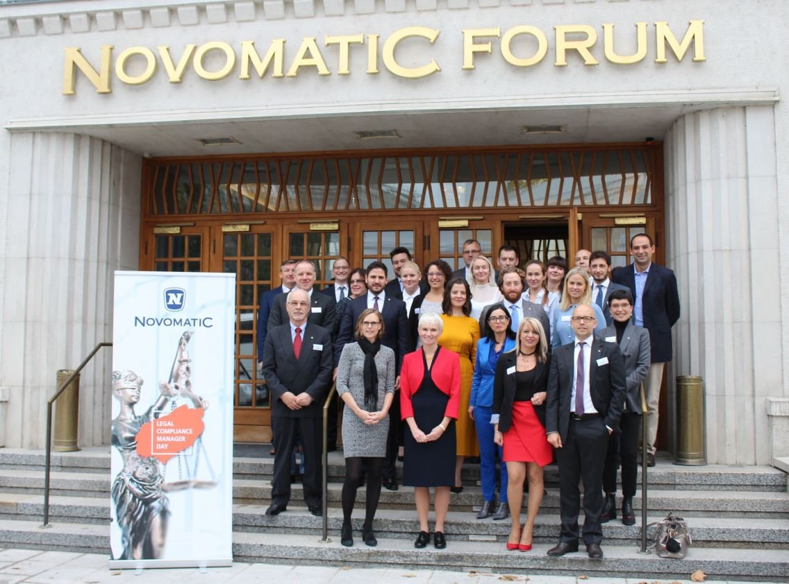 'NOVOMATIC Legal Compliance Manager Day' im Novomatic Forum in Wien